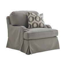 Oyster Bay Stowe Slipcover Armchair by Lexington