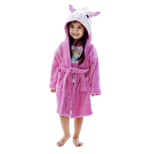 Giambrone Kid Animal Adventures Terry Cloth Bathrobe