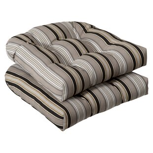 Tadley Indoor/Outdoor Dining Chair Cushion (Set of 2)