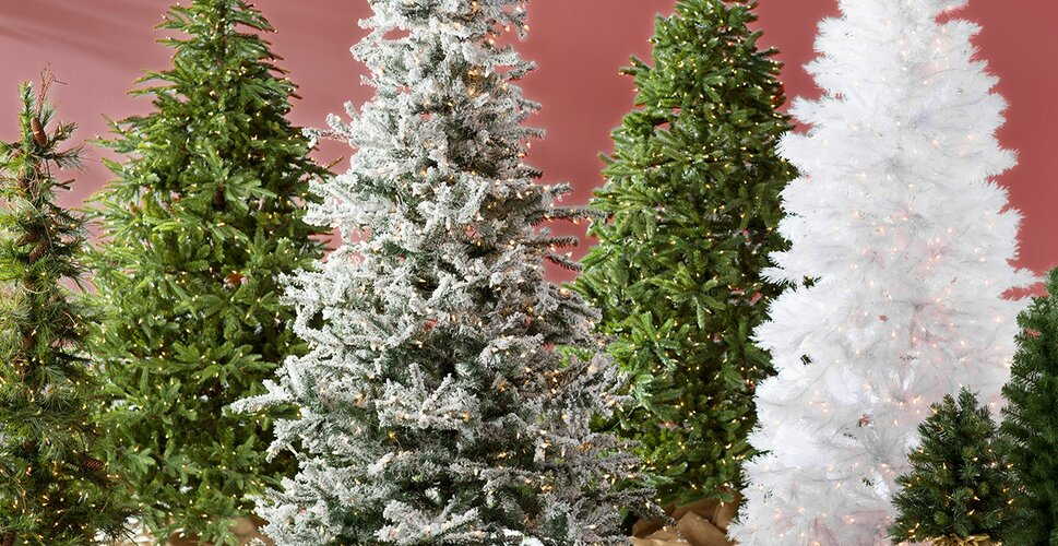fussfree christmas trees