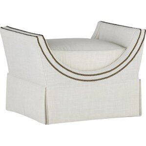 Gayle Curved Frame Ottoman by Gabby