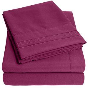 garrin ultra soft thread count 4 piece sheet set set of 4