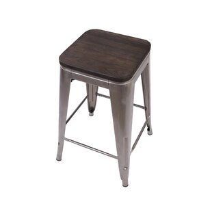 Warwickshire Tolix 16.9 Bar Stool Williston Forge