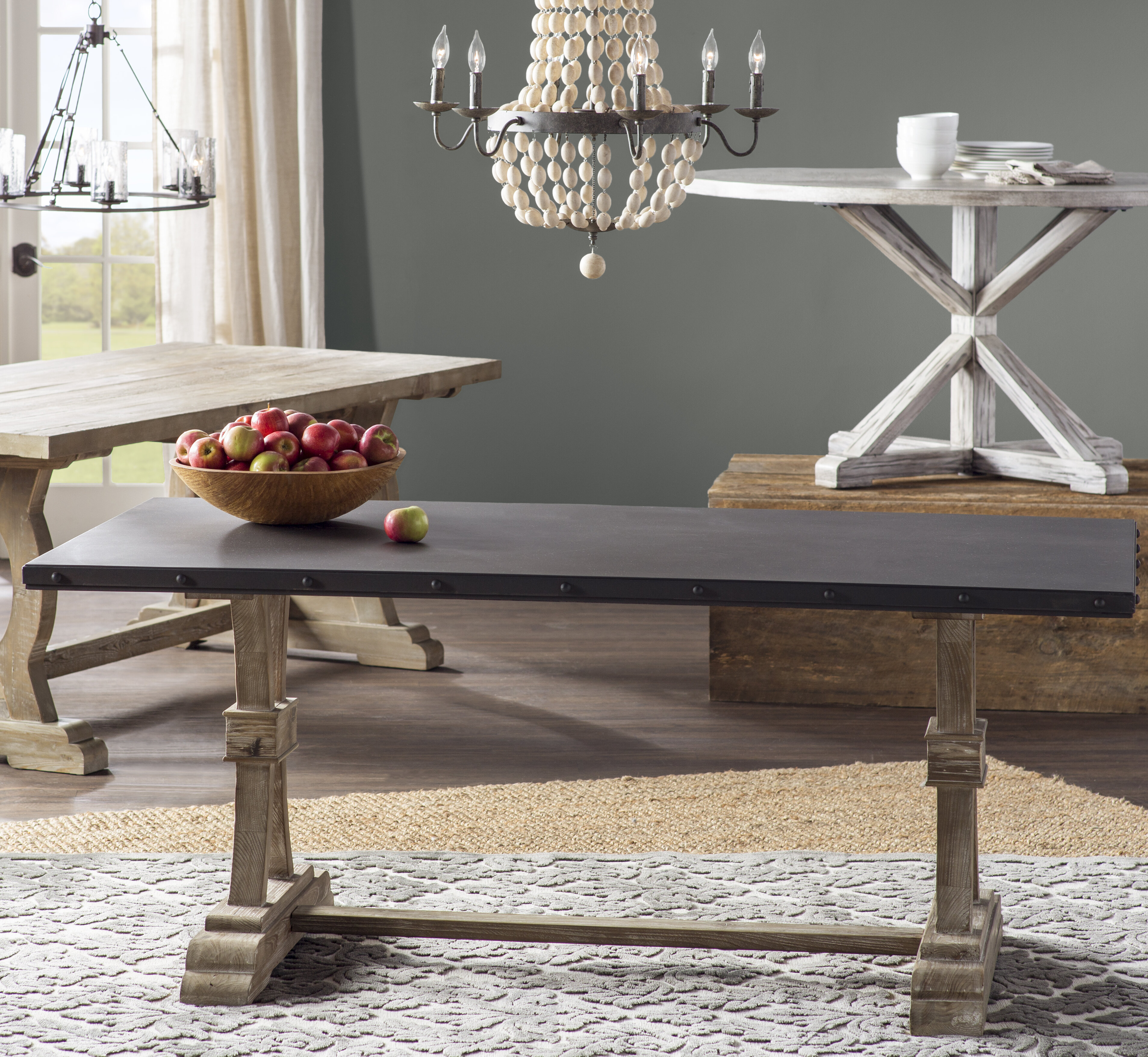 27410c6a5ca6 Laurel Foundry Modern Farmhouse Christina Dining Table   Reviews ...