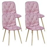 Dowell Tufted Upholstered Side Chair (Set of 4) by Corrigan Studio®