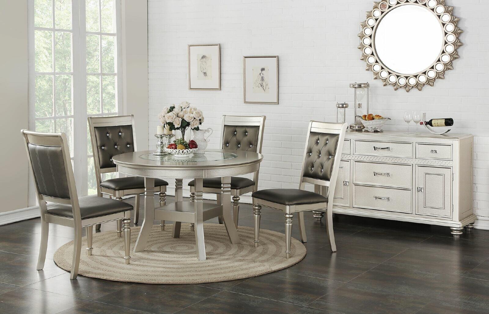 Rosdorf Park Blumer Glass 5 Piece Dining Set U0026 Reviews | Wayfair