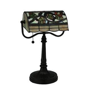 Meyda tiffany table lamps youll love wayfair vineyard banker 15 table lamp by meyda tiffany aloadofball Choice Image