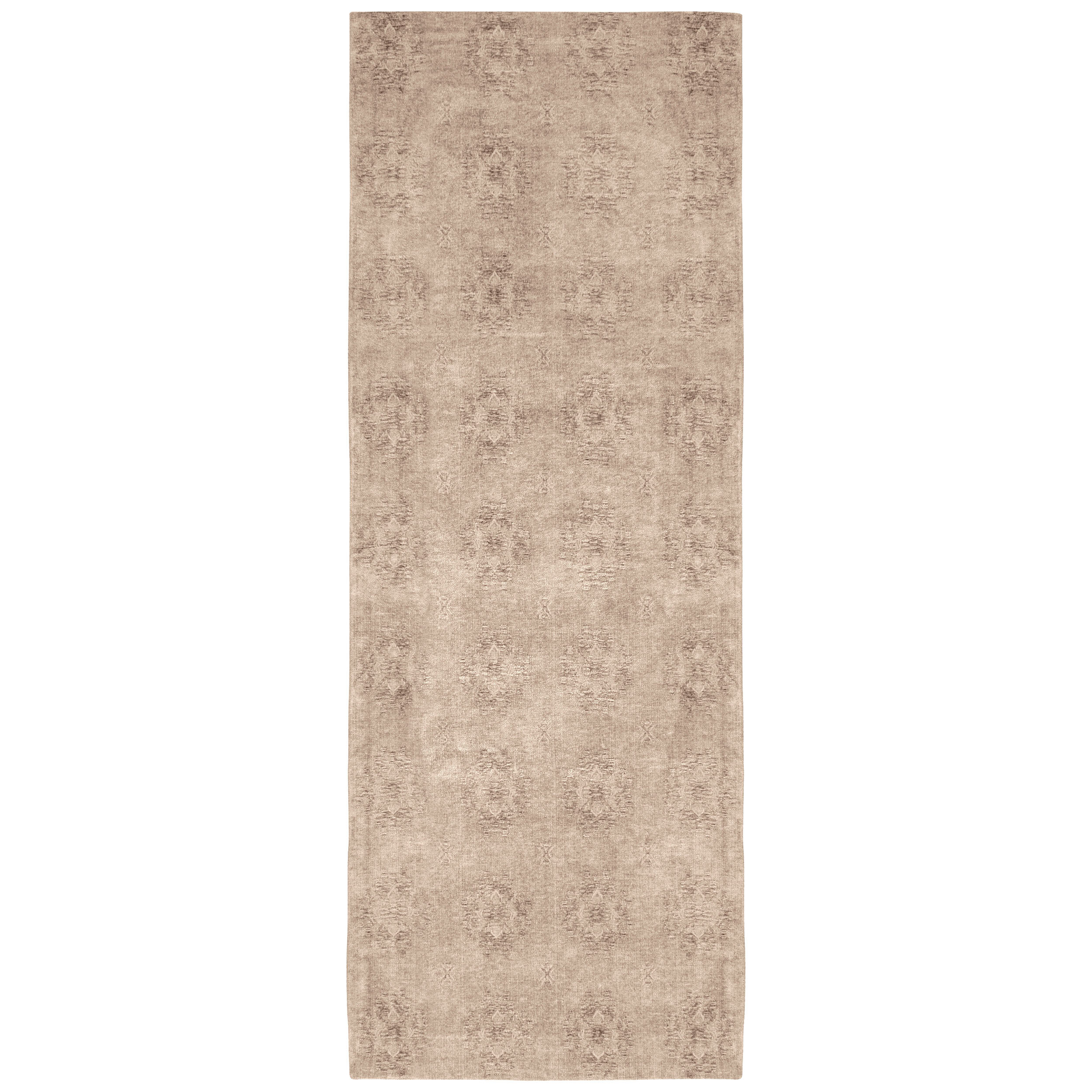 French Connection Jaylen Jacquard Ivory Area Rug