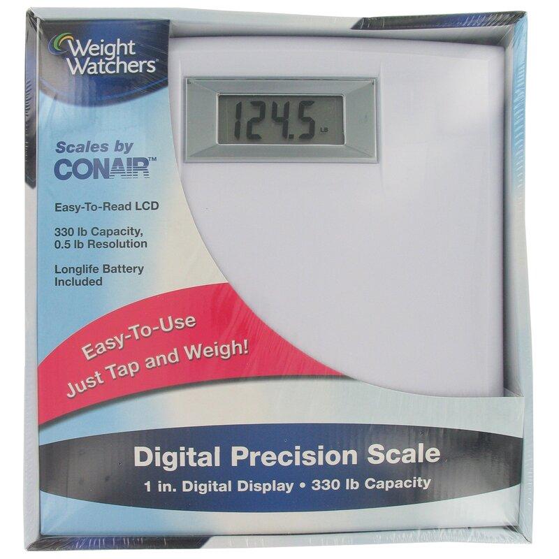 Conair Weight Watchers Digital Precision Scale Reviews Wayfair