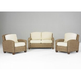 Hollier 3 Piece Living Room Set by Bay Isle Home
