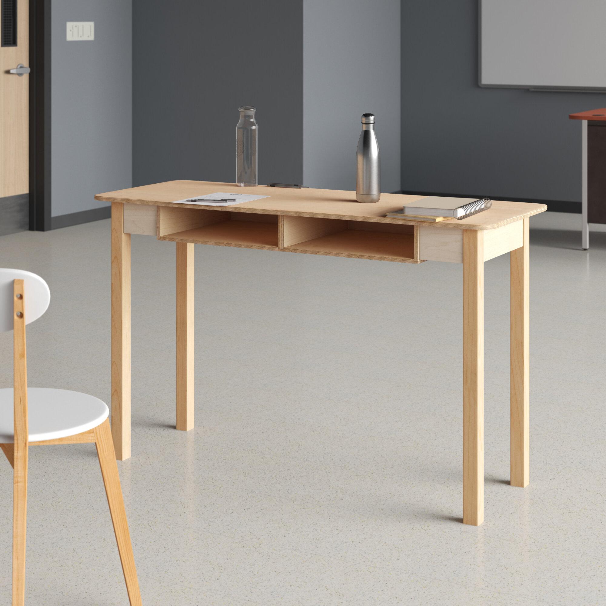 Wood Designs Manufactured Wood 30 Multi Student Desk Wayfair