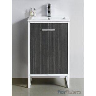 Bourgoin 20 Single Bathroom Vanity Set by Wrought Studio