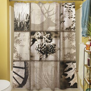 Mountain Retreat I Single Shower Curtain