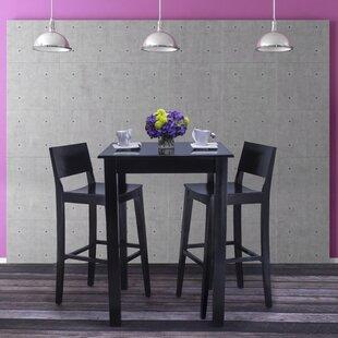Ebern Designs Tektas 3 Piece Pub Table Set