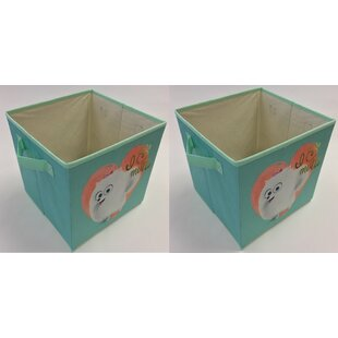 Affordable Mutts Collapsible Storage Cube (Set of 2) By Linen Depot Direct