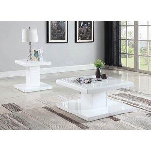Orren Ellis Bratton 2 Piece Coffee Table Set
