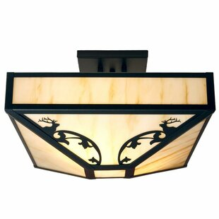Bavarian 4-Light Semi Flush Mount by Steel Partners