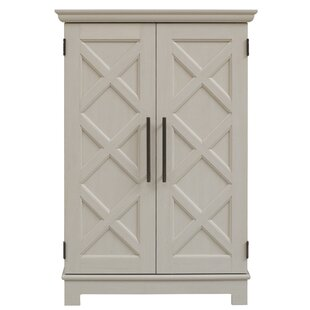 Kristen Bar Cabinet with Bar Cabinet by Charlton Home