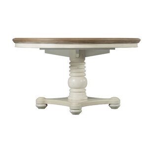 Fleeton Drop Leaf Solid Wood Dining Table