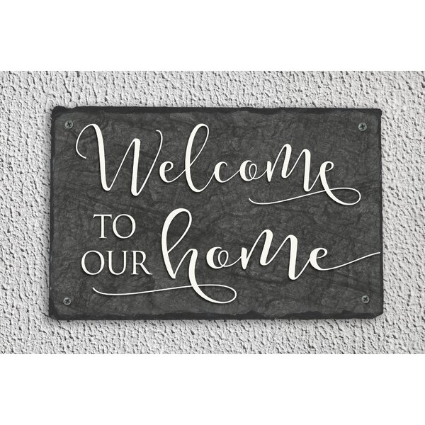 Welcome to our home wall decor wayfair