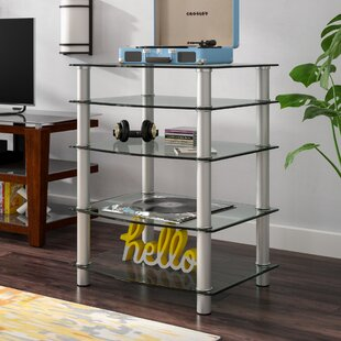 Multi-Level Component Stand with Shelves