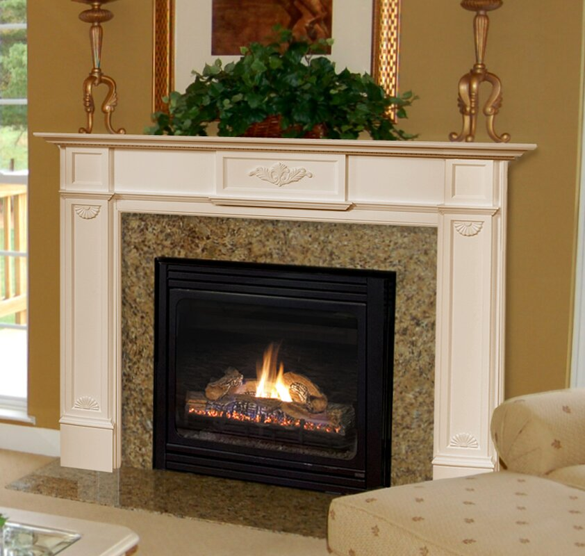 Pearl Mantels The Monticello Fireplace Mantel Surround Reviews