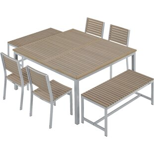 Latitude Run Laskowski 7 Piece Dining Set
