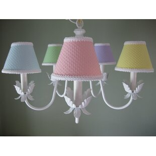 Silly Bear Lighting Ooh Baby Baby 5-Light Shaded Chandelier
