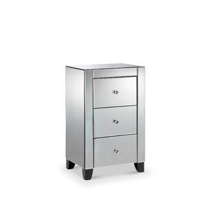 Rider 3 Drawer Nightstand