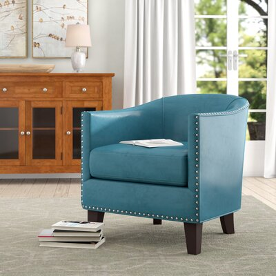 Swell Sangster Barrel Chair Charlton Home Upholstery Color Blue Machost Co Dining Chair Design Ideas Machostcouk