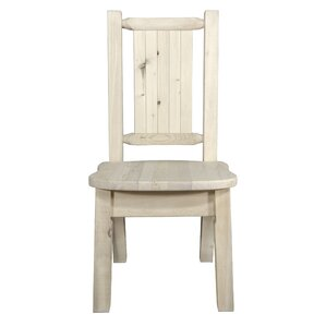 Abella Bear Solid Wood Dining Chair by Loon Peak