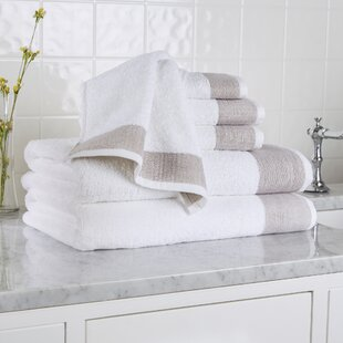 Claudine 6 Piece Turkish Cotton Towel Set