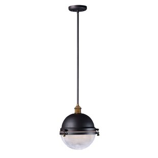 Kilmer 1-Light Outdoor Pendant by Breakwater Bay Wonderful