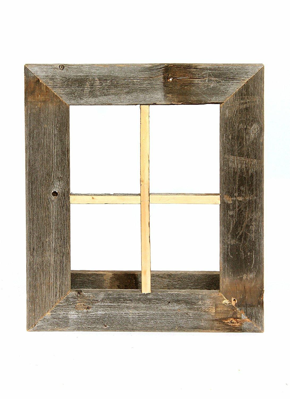 BarnwoodUSA Rustic Window Planter Frame Wall Décor & Reviews | Wayfair