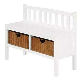 Daisy Wood Storage Bench By Home Etc