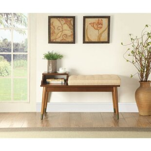 Faria Upholstered Storage Bench by George Oliver