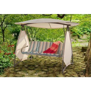 Red Barrel Studio Pioneer Porch Swing with Stand