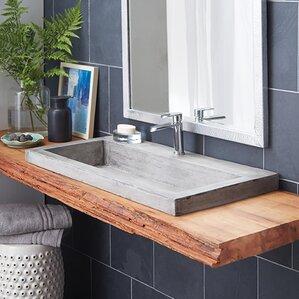 wayfair bathroom sinks.  Granite Stone Bathroom Sinks You ll Love Wayfair