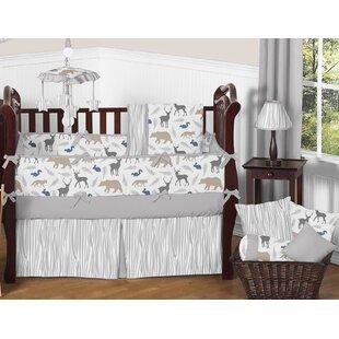Woodland Animals 9 Piece Crib Bedding Set