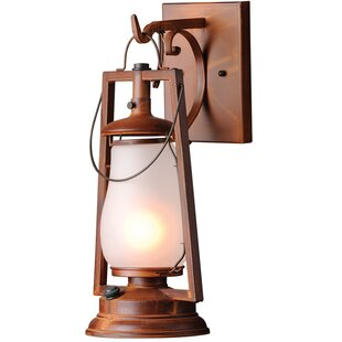 Reviews 49er Series 1-Light Outdoor Wall Lantern By America's Finest Lighting Company
