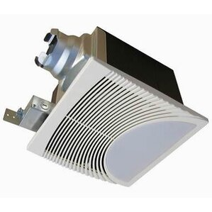 Bathroom Lighted Exhaust Fans shop 50 decorative bathroom fans | wayfair