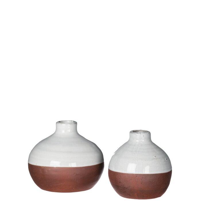 Gracie Oaks Lipton 2 Piece Table Vase Set Wayfair