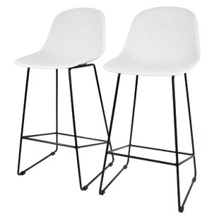 Tariq 69cm Bar Stool (Set Of 2) By Ebern Designs