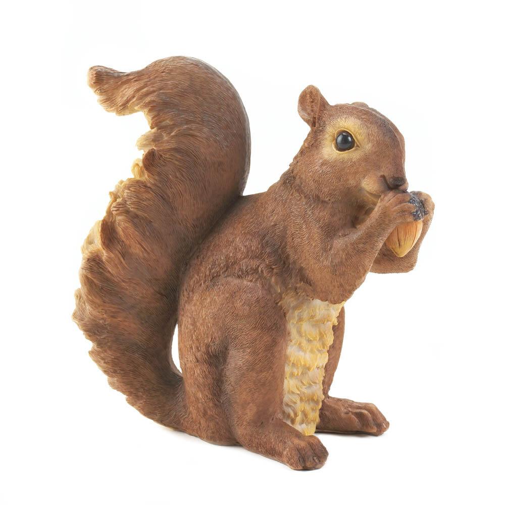 Zingz & Thingz Nibbling Squirrel Garden Statue & Reviews | Wayfair