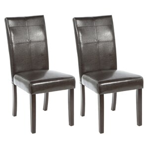 Waltonville Parsons Chair (Set of 2) by Red Barrel Studio