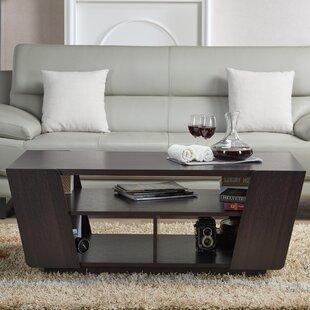 Hamblen Coffee Table with Magazine Rack by Brayden Studio