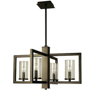Rametta 4-Light Square/Rectangle Chandelier