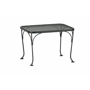 Woodard Mesh Top Occasional Side Table