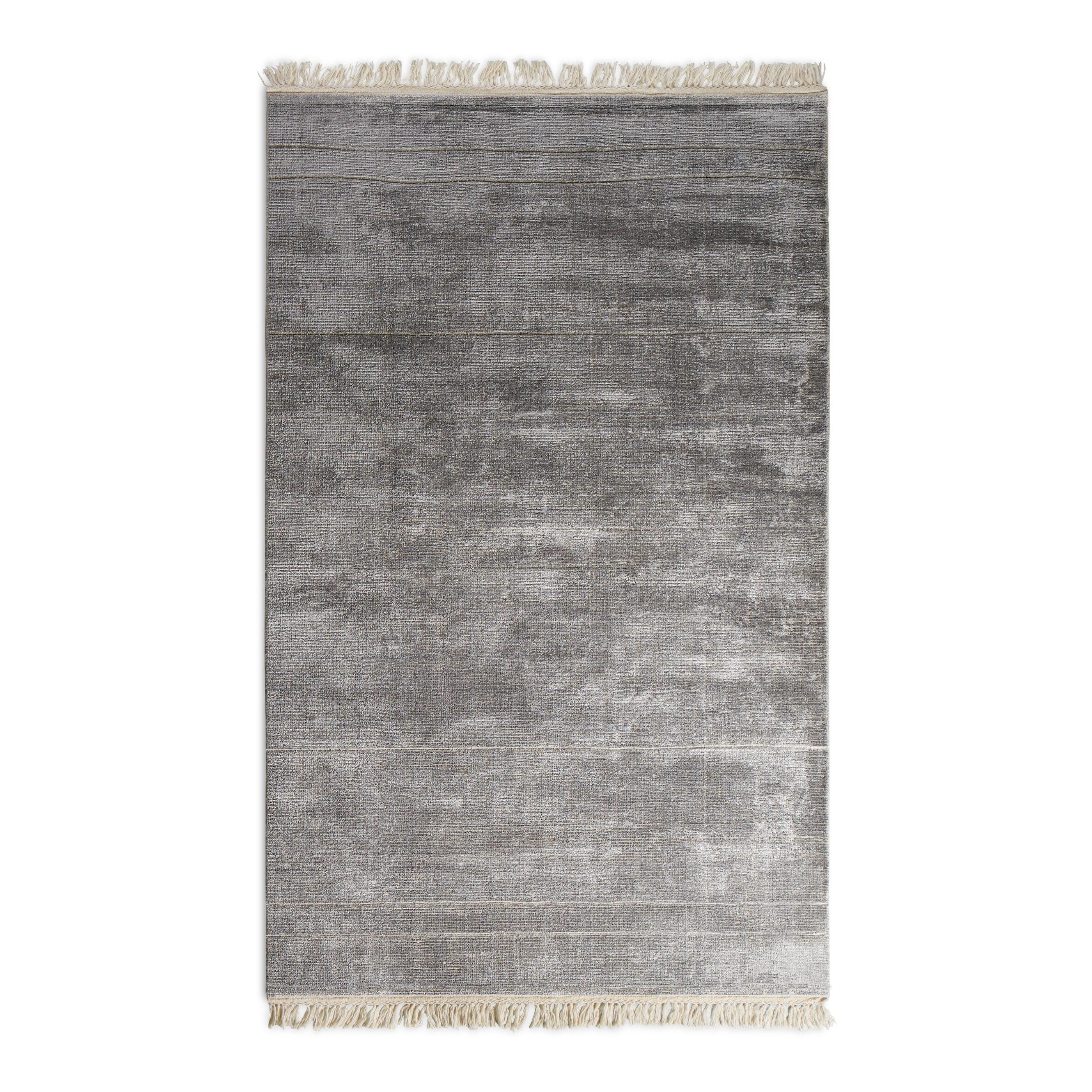 Blu Dot Abstract Hand Woven Wool Gray Area Rug Wayfair
