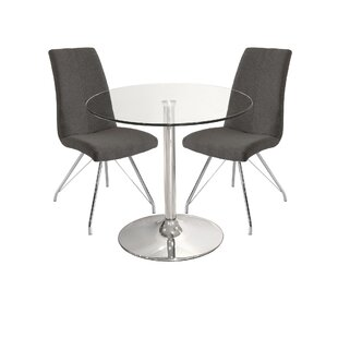Inverness Dining Set With 2 Chairs By Metro Lane
